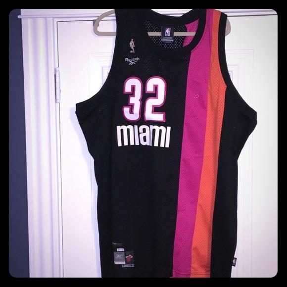 innovative design 000fb a585b Redbox - Retro Swingman Jersey - Miami Heat - Shaq